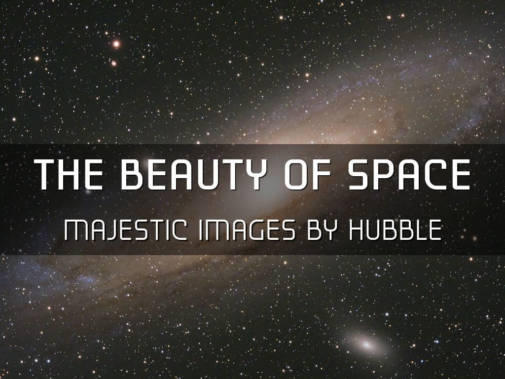 The Beauty of the Universe