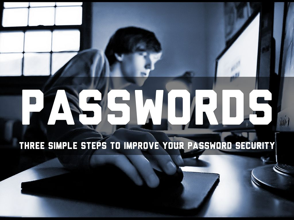 3 simple password rules