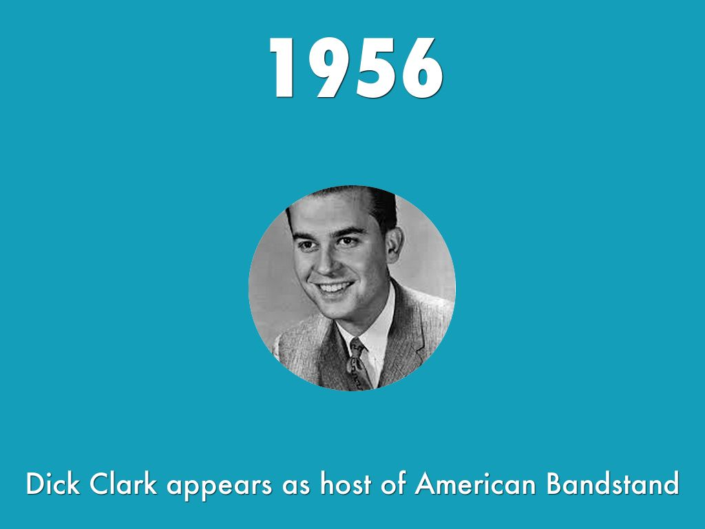 dick clarks american bandstand American bandstand, which the late dick clark hosted from 1956 to 1989, introduced new musical acts to generations of americans during its decades-long run it changed formats over the years, shifed time slots, locations, lengths and sets, but during his tenure as host, viewers could always count.