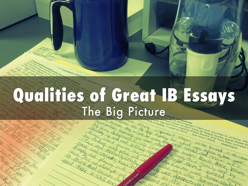 Qualities of Great Essays