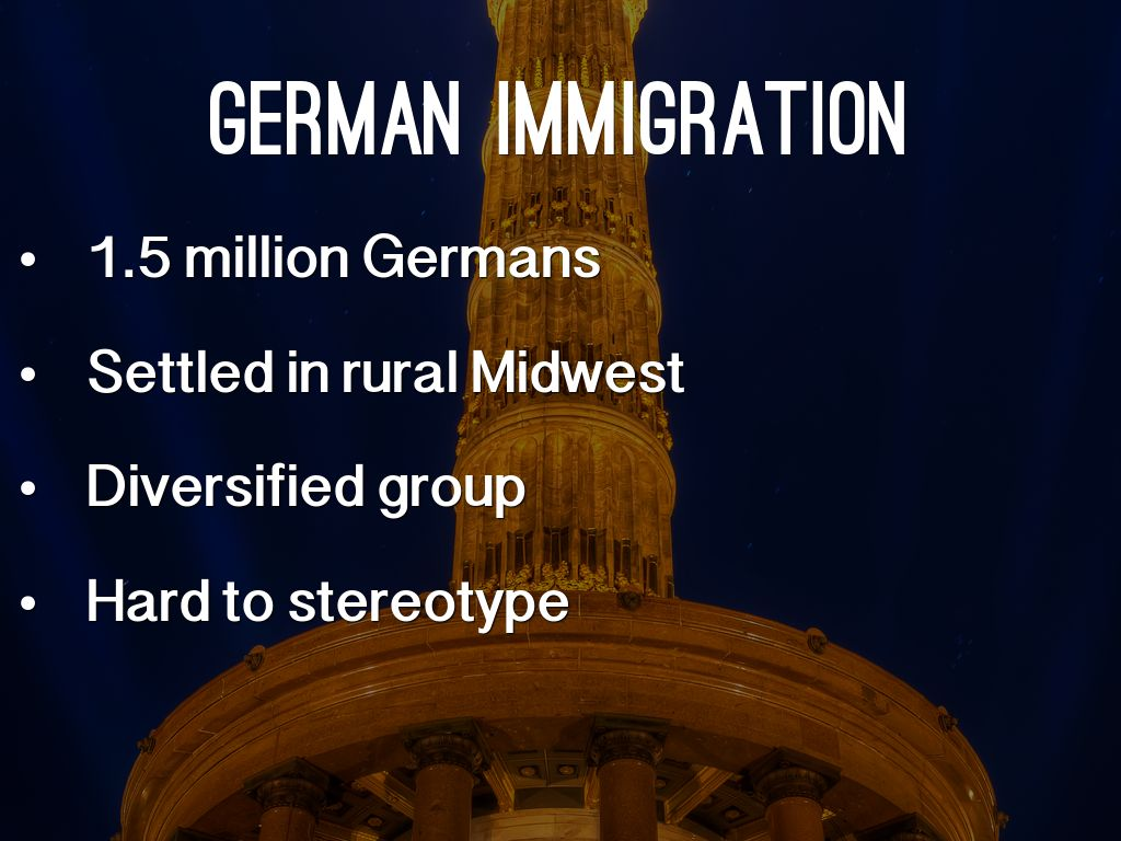 an essay on german immigration in the midwest German immigration to midwest limited time offer at lots of essayscom we have made a special deal with a well known professional research paper company to offer.