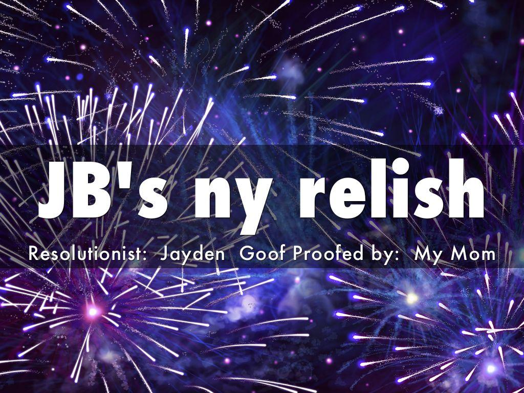 JB's ny relish
