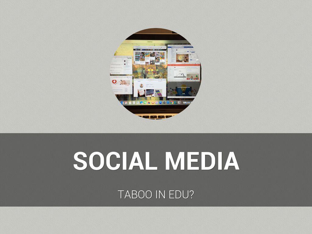 Copia de Social Media In Edu