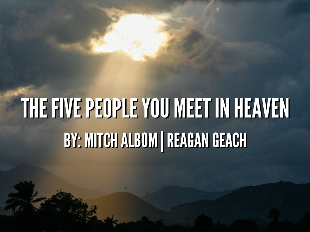 five person you meet in heaven pdf alexandra
