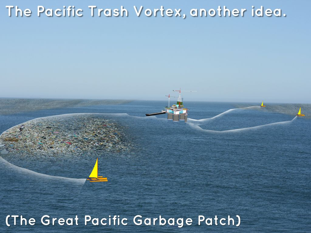 great pacific garbage patch essay The area of increased plastic particles is located within the north pacific gyre, one of the five major oceanic gyres in the pacific the great pacific garbage patch, also described as the pacific trash vortex, is a gyre of marine debris particles in the central north pacific ocean discovered.