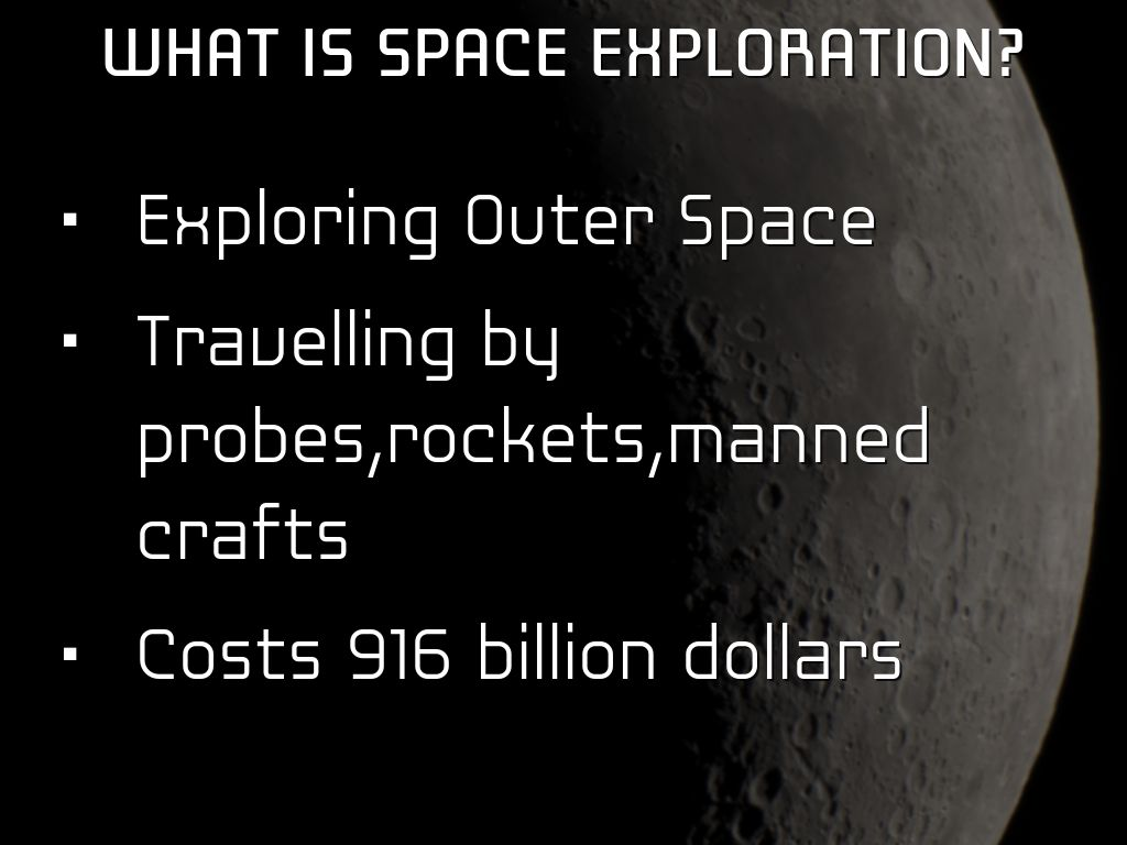 pro space exploration essay Editor's note: this is the first in a series of essays on exploration by nasa's chief historian, steven j dick is space exploration really desirable at a time when so much needs doing on.