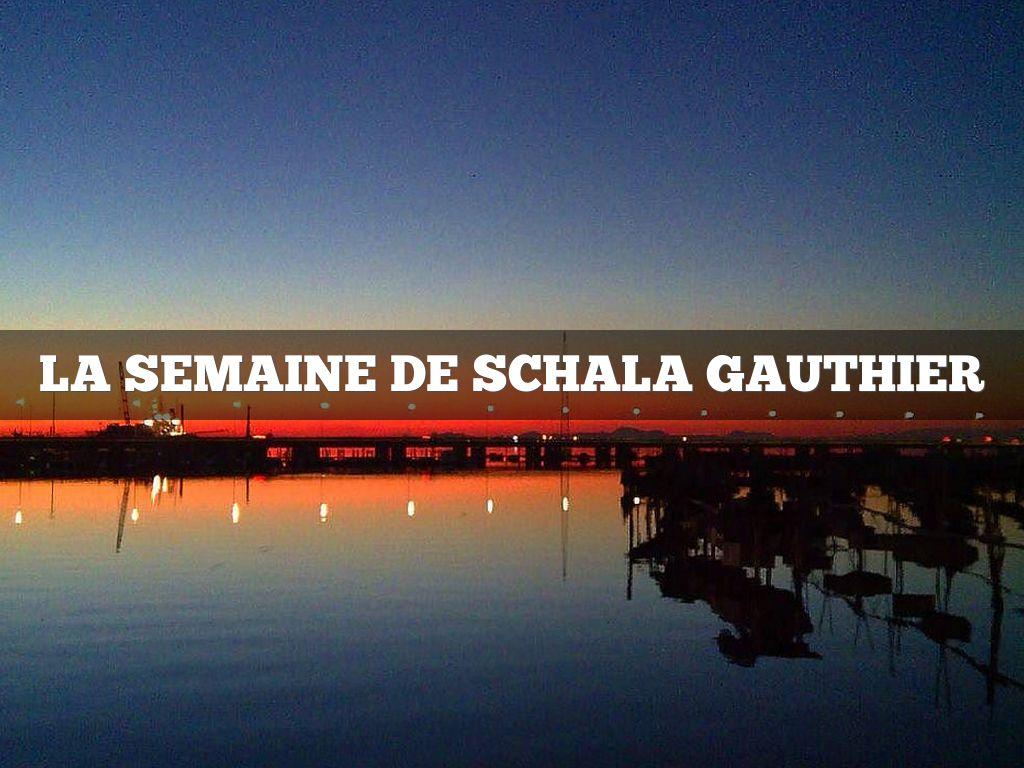 Le Semaine De Schala Gauthier