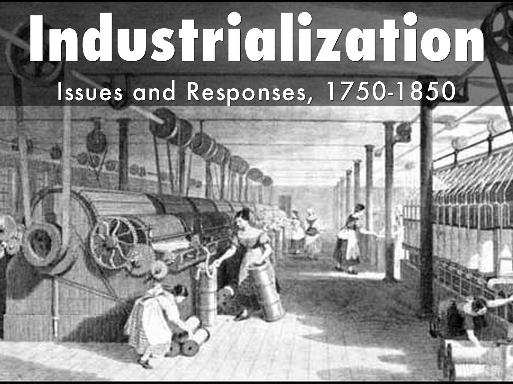 marx and industrialization Classical social theory i: marx and durkheim antonino palumbo and alan scott modern social theory a  the industrial revolution in particular .