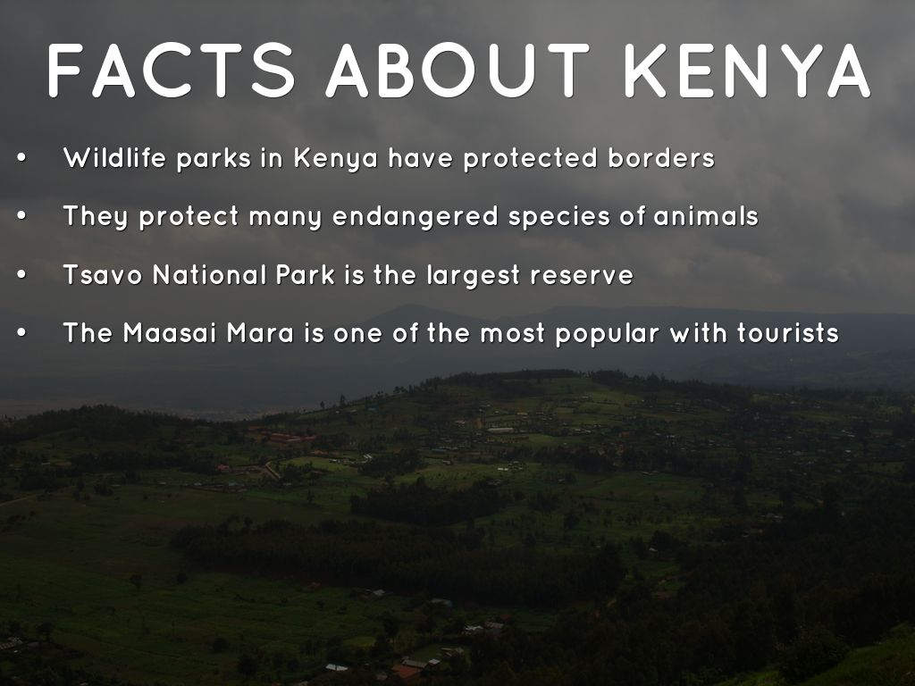 facts about kenya essay