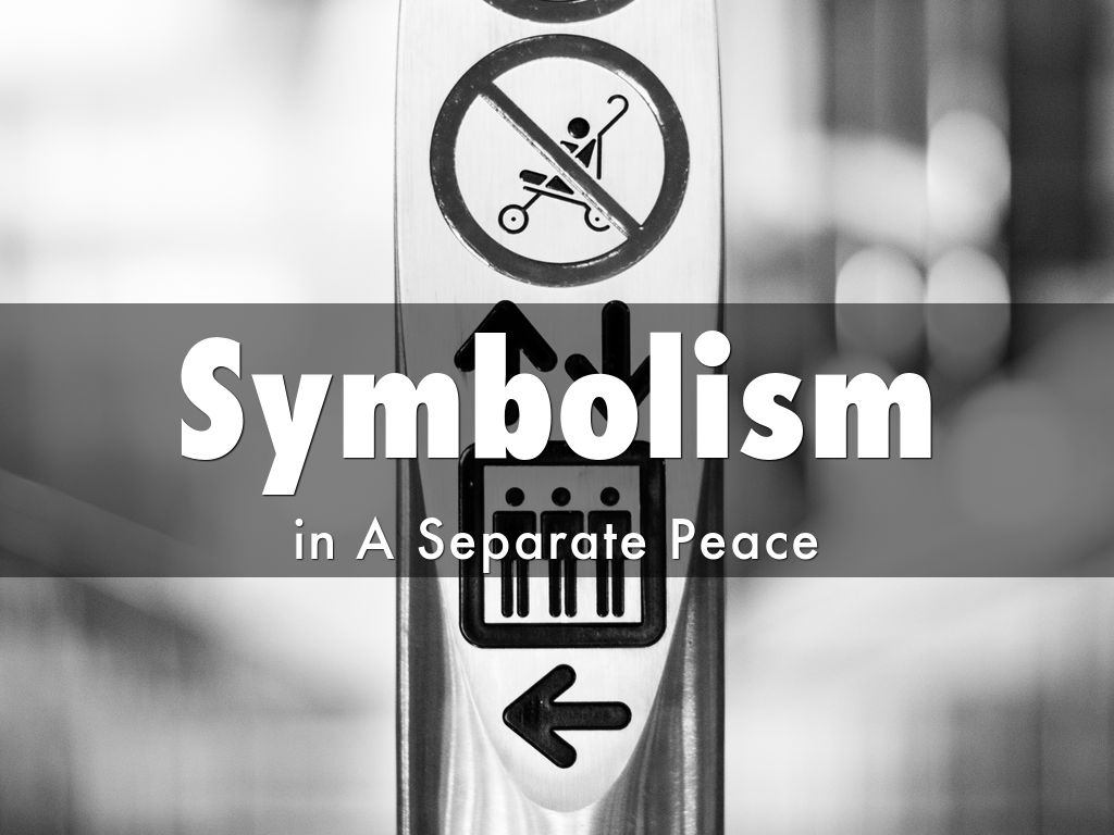 symbolism in a seperate peace