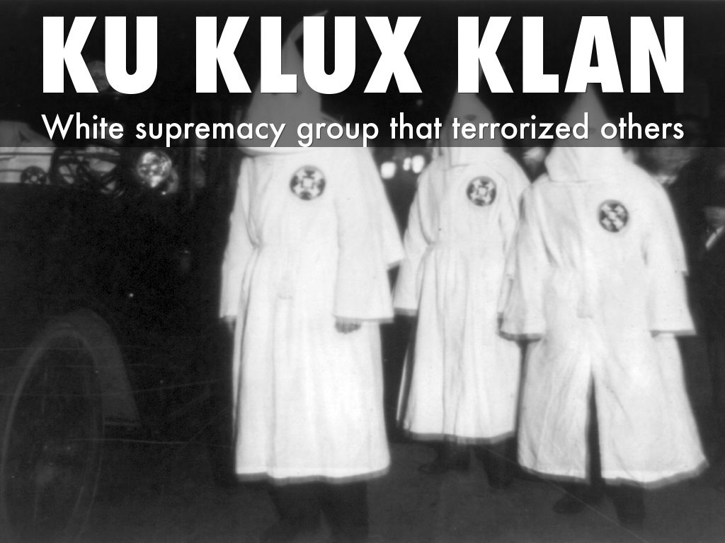Ku Klux Klan in the Reconstruction Era