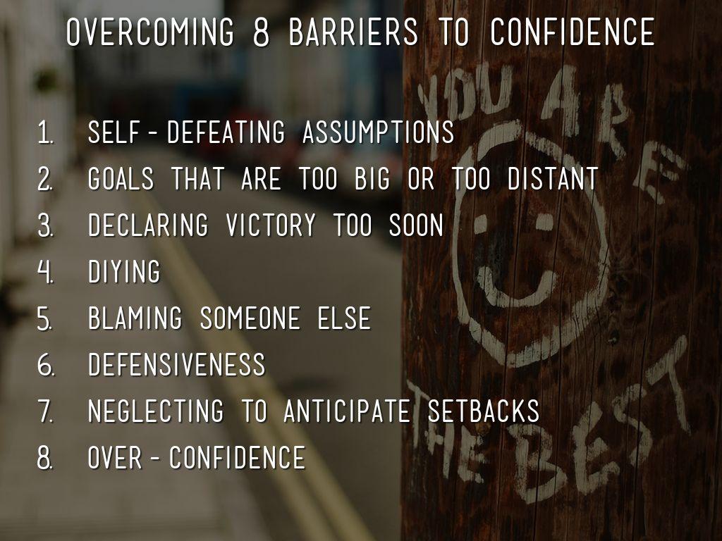 anticipated setbacks