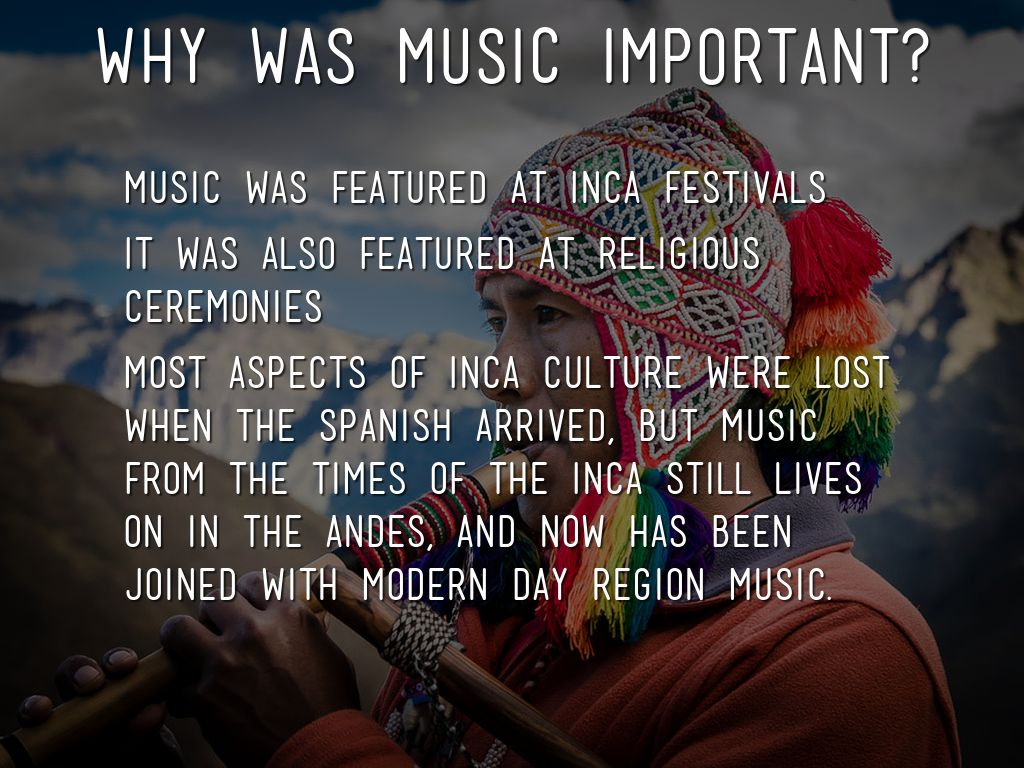why is music so important in Why is popular music important why is popular music so important as i thought about this a little more tonight, certain examples occurred to me.