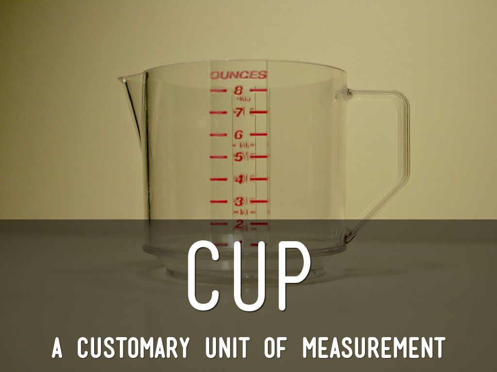customary units of capacity by suzanne harris