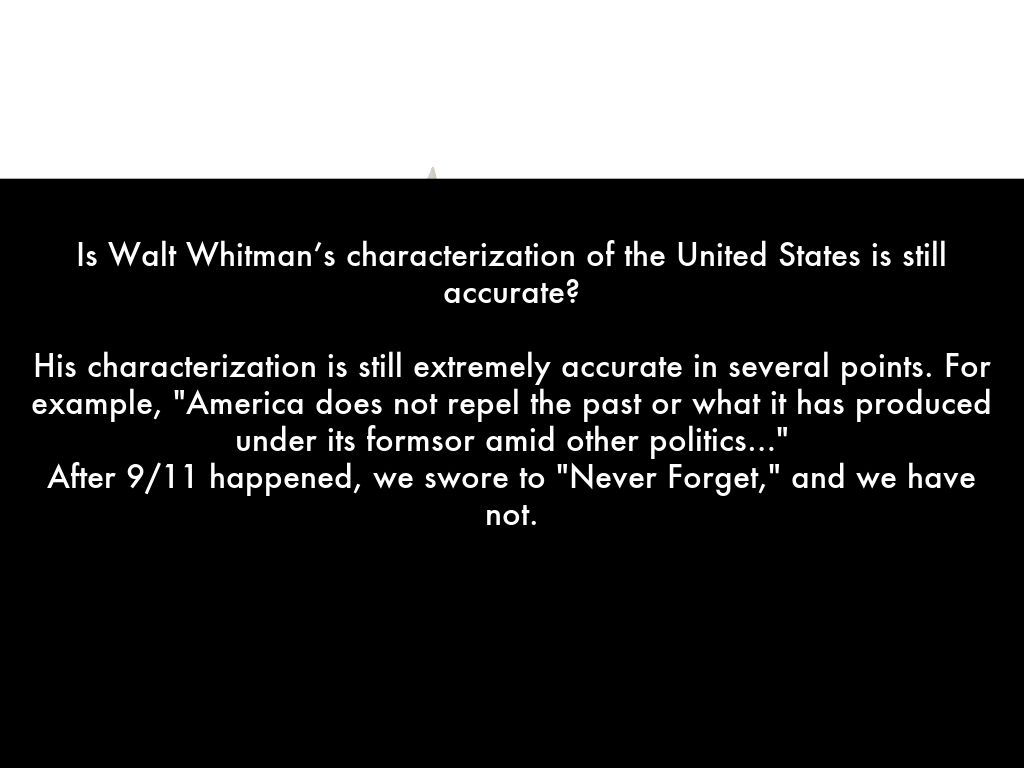 walt whittman essay