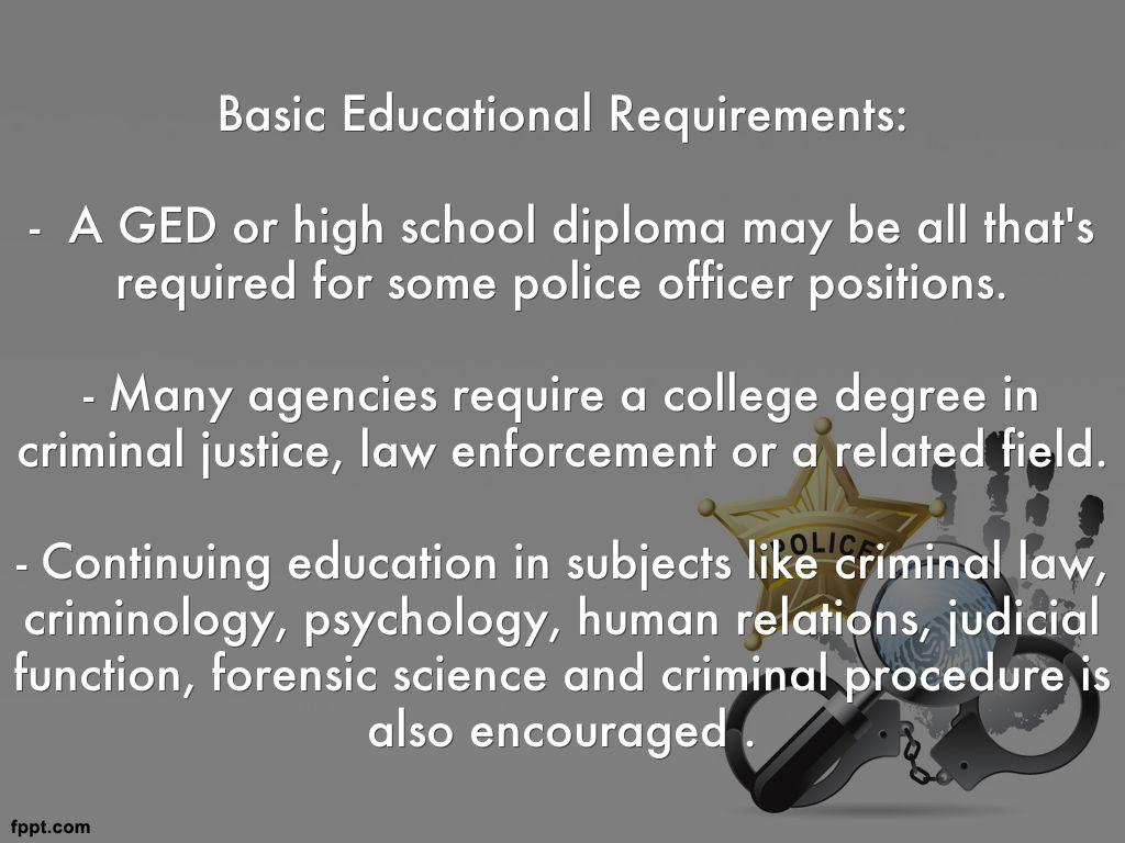 LAW ENFORCEMENT CONTINUING EDUCATION