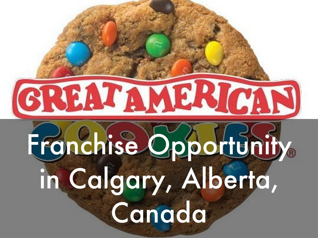 Great American Cookies Opportunity in Calgary, Alberta, Canada