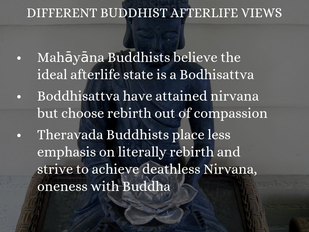 theravada buddhism and escaping rebirth essay The buddhist layman, four essays by r specific theme concerning basic theravada buddhist principles and from the buddhist publication society.