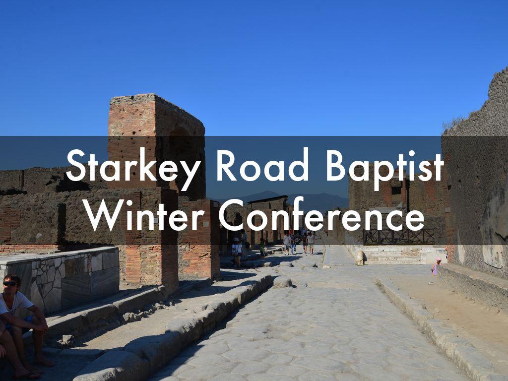 Starkey Road Baptist Winter Conference