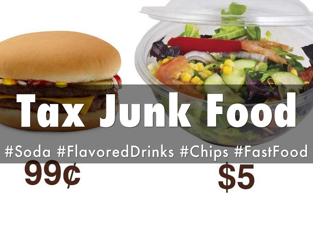 taxing junk food Should we tax unhealthy foods to enact so-called snack taxes on soda, candy and other junk food considered taxing foods at different amounts.
