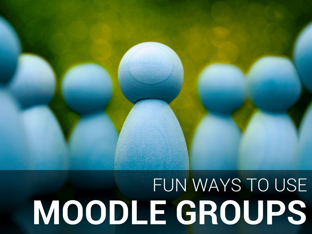 Moodle Groups