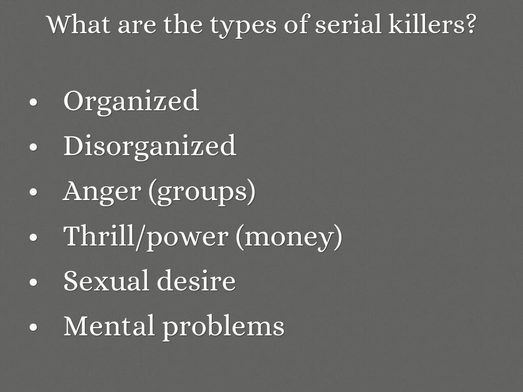 Serial Killers: A Biological, Psychological, and Social