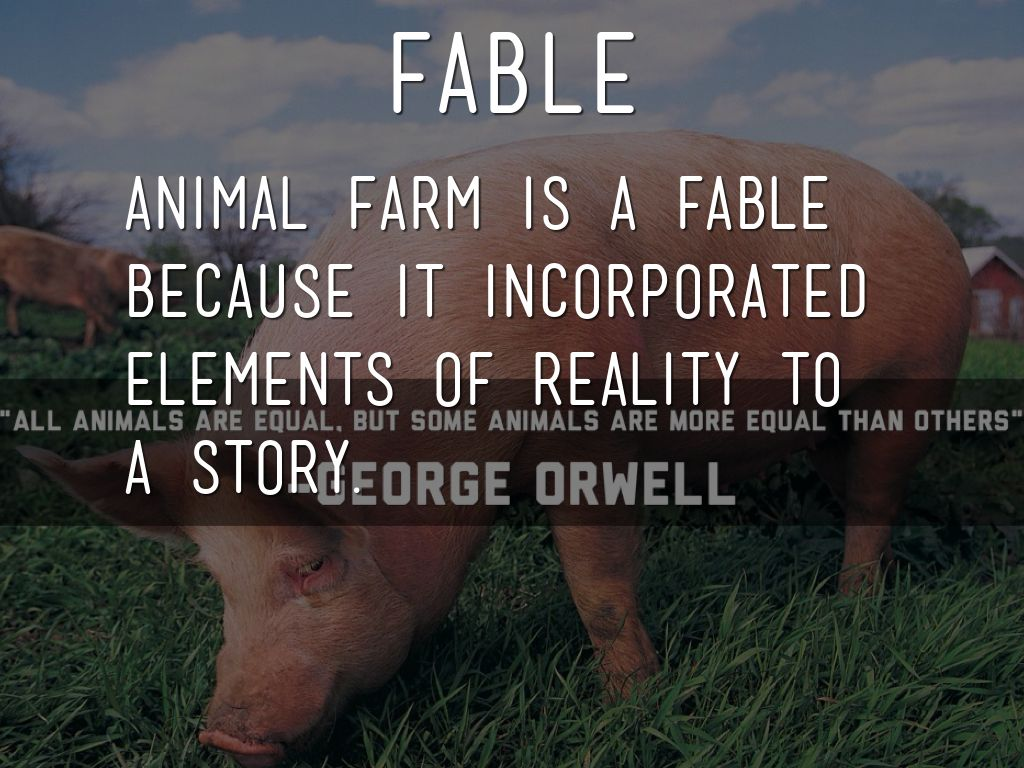 animal farm equality of animal among Animal farm: metaphor analysis, free study guides and book notes including comprehensive chapter analysis, complete summary analysis, author biography orwell, although agreeing with the overall concept of equality though socialism, was critical of marx because he didn't take into account the.