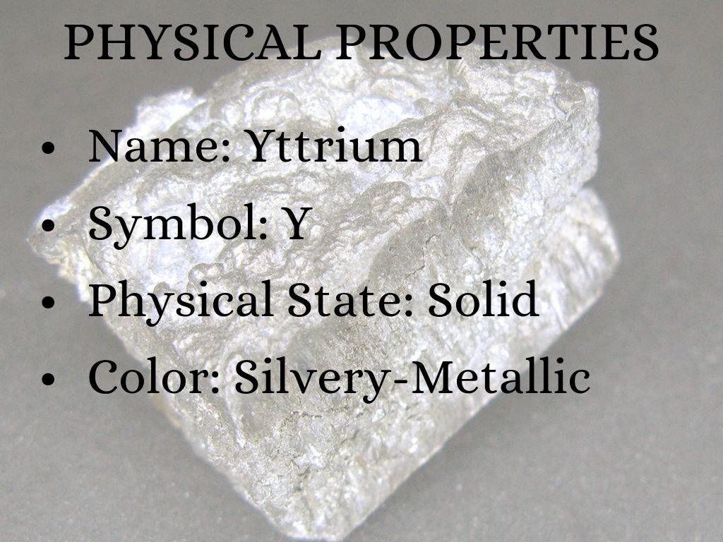 Scandium Yttrium By Sam Helms