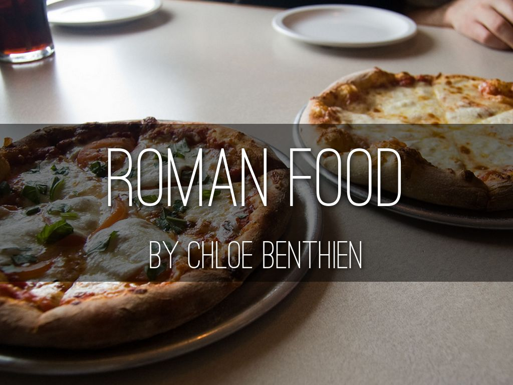 Roman Food By Matt Finnis