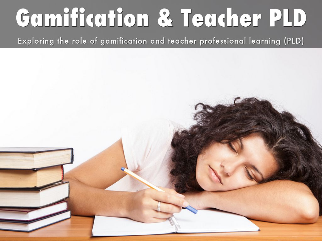 Gamification & Teacher PLD