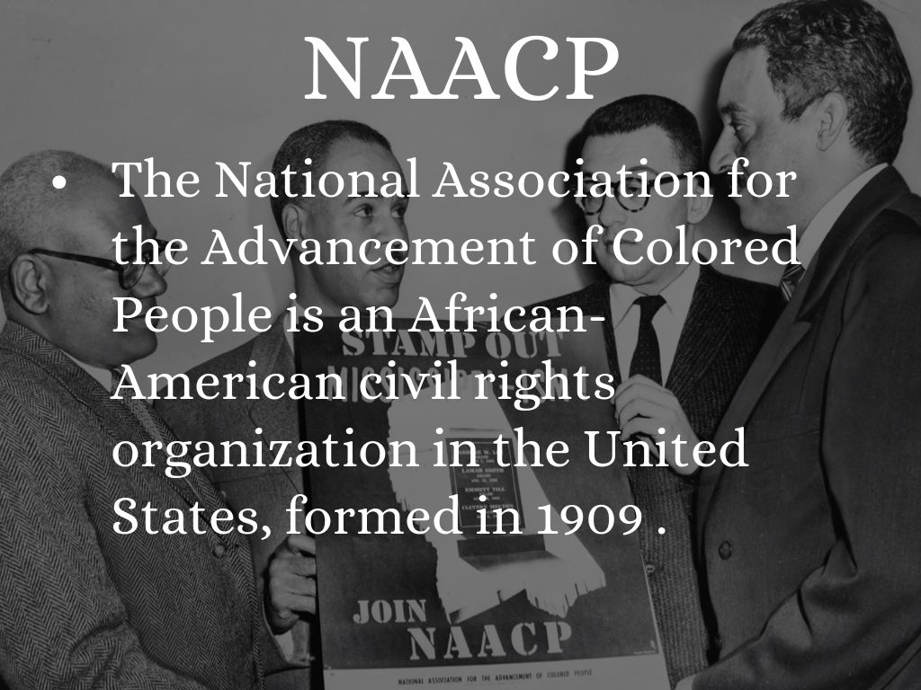 national association for the advancement of colored people paved the way for change James t washington 20] national association for the advancement of colored people1940 the burden of busing: the politics of.