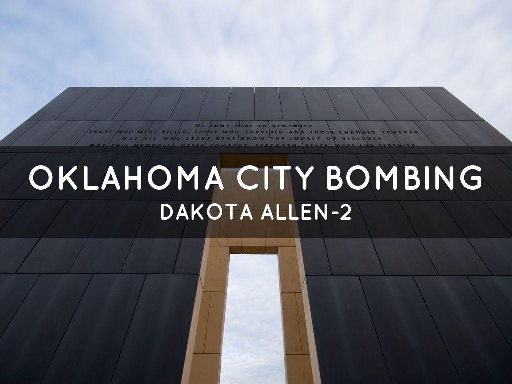 the oklahoma city bombing essay Ruby ridge, waco, oklahoma city bombing research assignment and oklahoma city bombing) with over 10 years in the essay business.