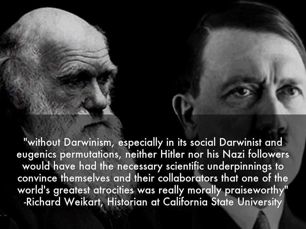 eugenics of darwinism Darwinism and the nazi race holocaust by dr jerry bergman on november 1, 1999 share: charles darwin, mentioned eugenics is still alive in the world today.