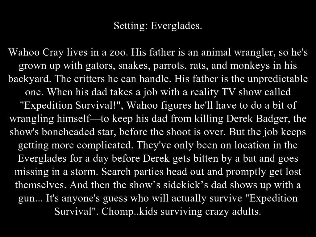 Derek Badger Expedition Survival