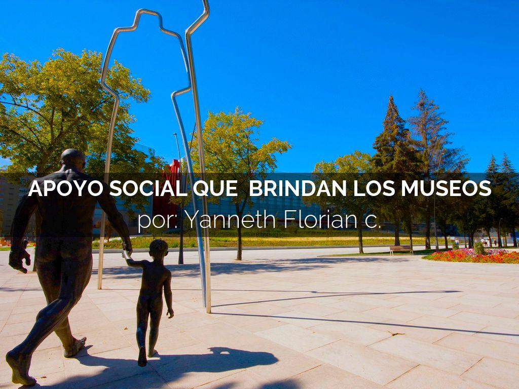 APOYO SOCIAL DE LOS MUSEOS
