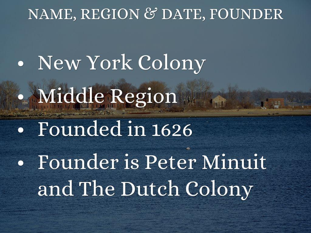 New York Colony by Kimberly Barrera