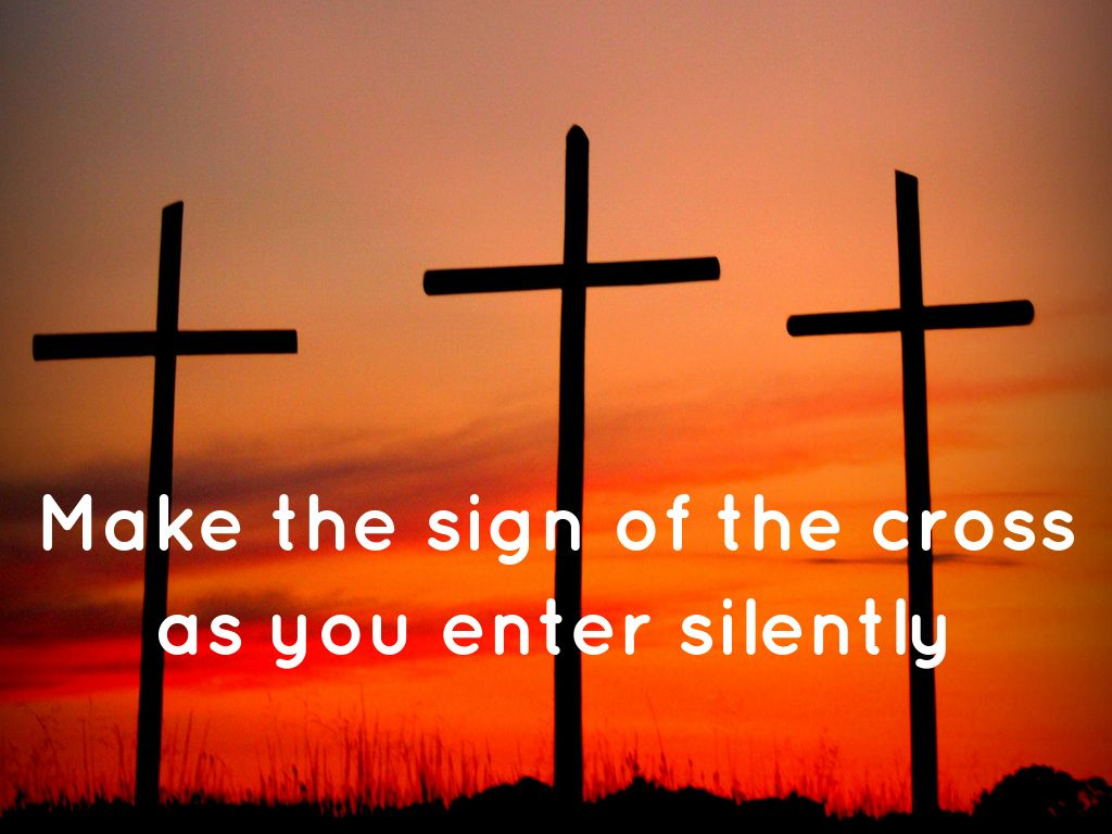the sign of cross