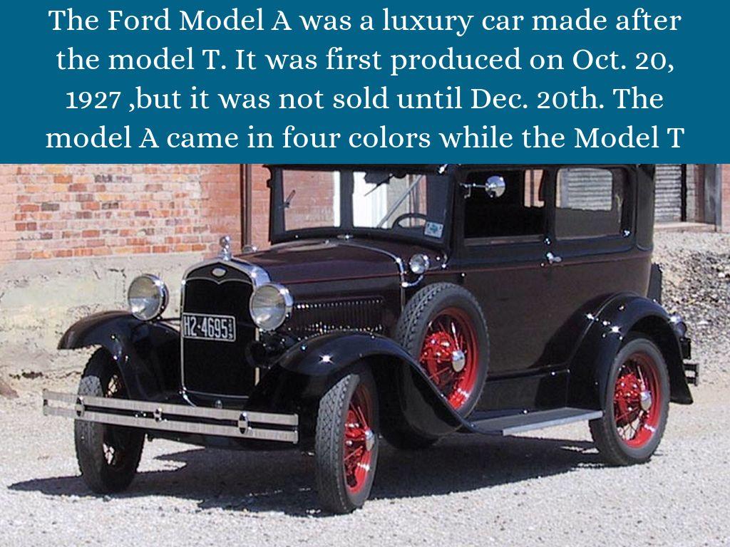 Ford Model A (1927-31) by Jesse Hazelton