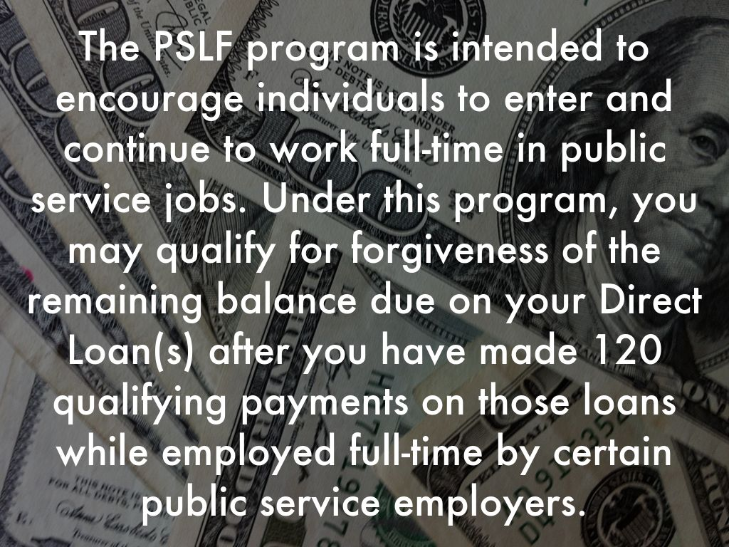 Public service loan forgiveness by jamie scatenato there are over 33 million people employed in the government and non profit sectors thats over 20 of us employees any of these people who have student 1betcityfo Image collections