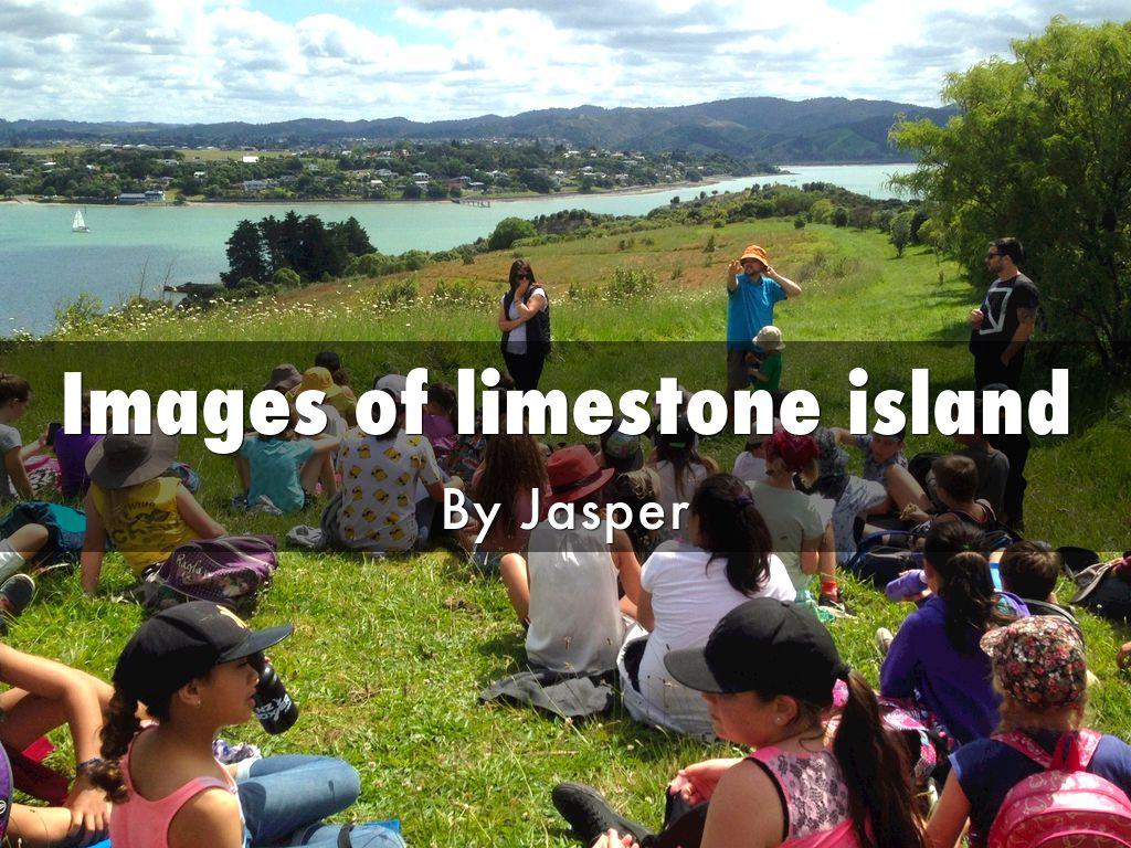 Images of limestone island