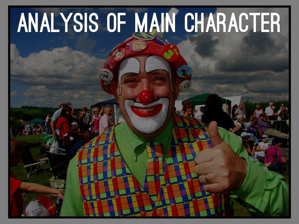 analysis of a main character