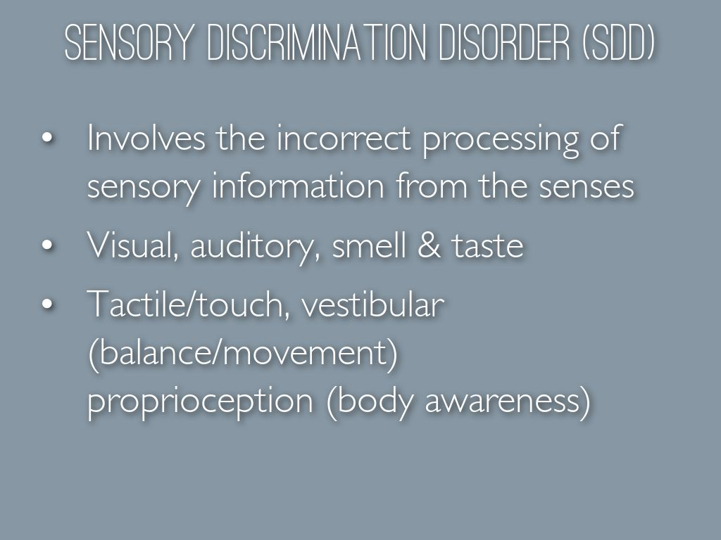 sensory information essay Free essay: the sensory system & sensory disorder the sensory system is the system the lets the human body experience life it is responsible for.