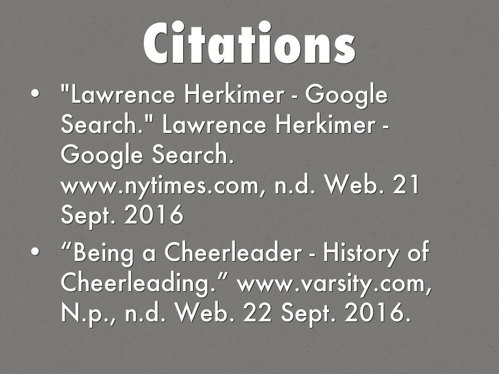 The Evolution Of Cheerleading by Elissa Ramirez
