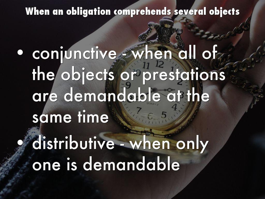 what is facultative obligation