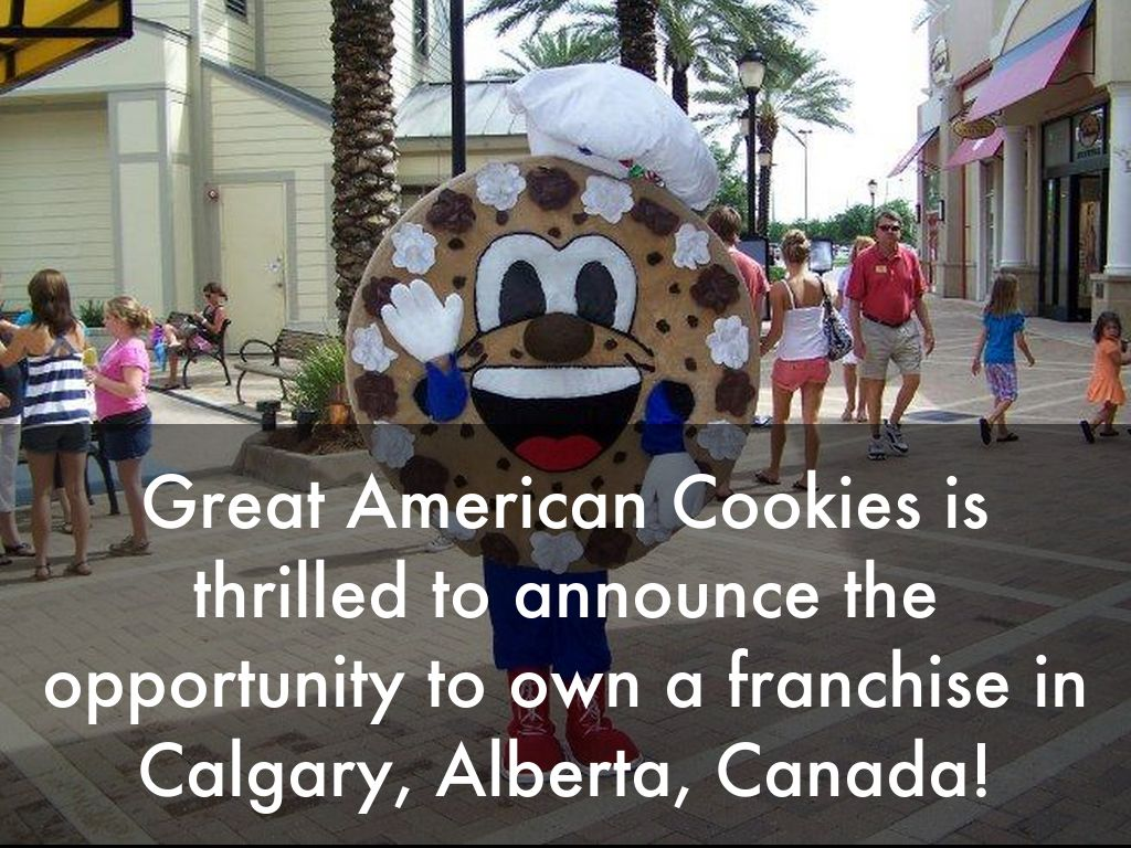 Great American Cookies Opportunity In Calgary