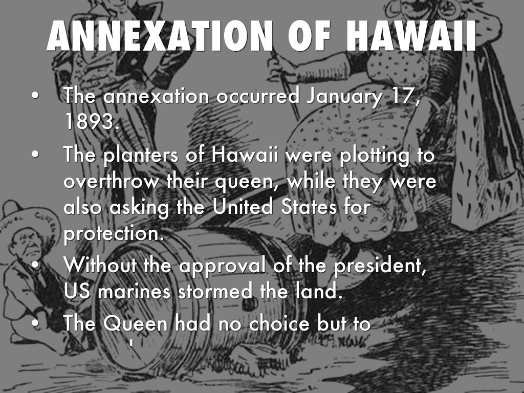 annexation of hawaii essay