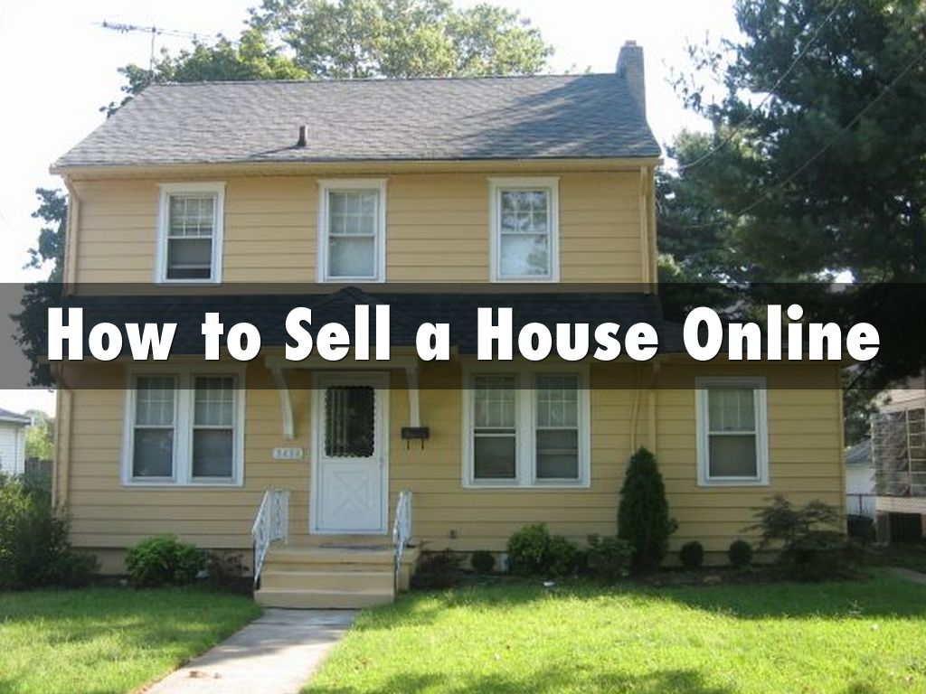 Option 2: Sell Your House Online Without a Real Estate Agent