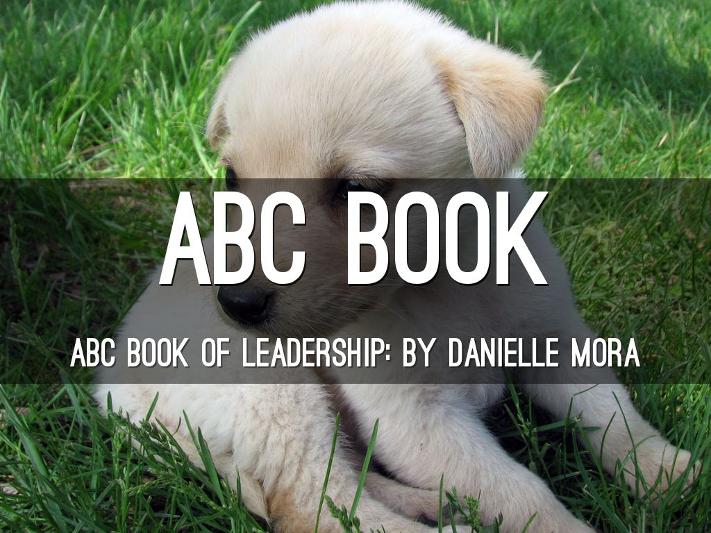 ABC book of leadership. : )