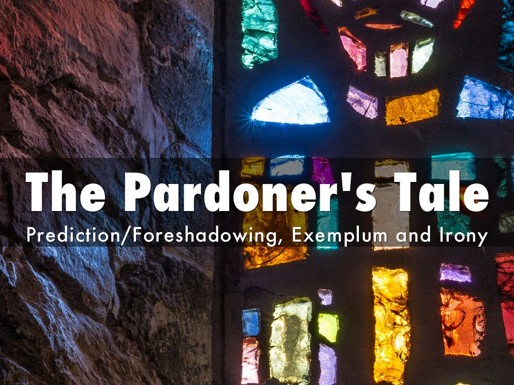 irony in the pardoners tale 7 discussion posts bubblesthemonkey said: please help me what is an example of verbal irony in the pardoner's tale thanks, mary said: i would sug.