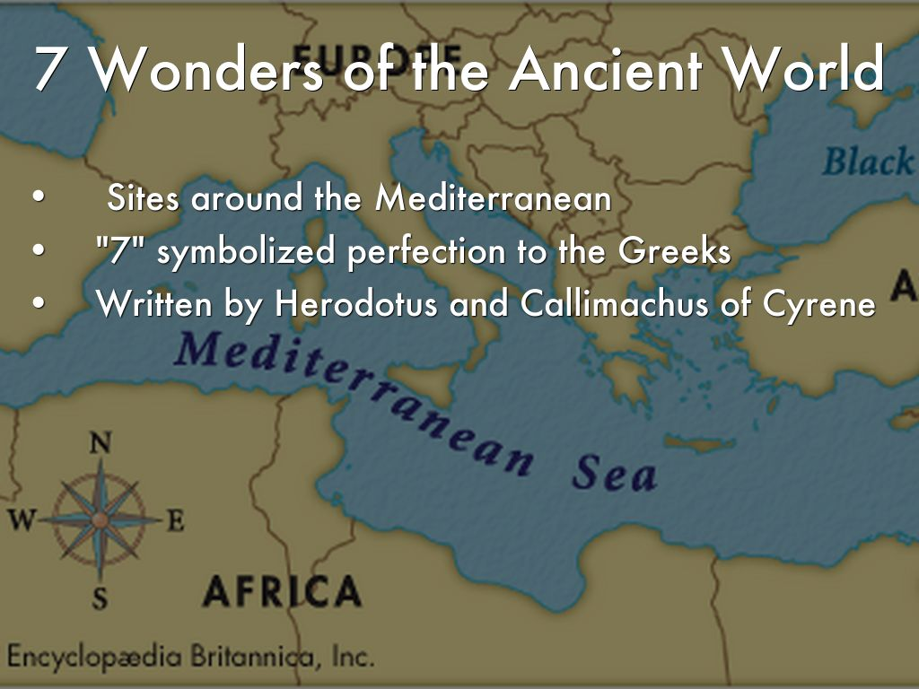The 7 Wonders of the World by azetlin26